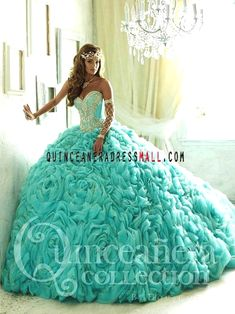 Pretty quinceanera dresses, 15 dresses, and vestidos de quinceanera. We have turquoise quinceanera dresses, pink 15 dresses, and custom quince dresses! Turquoise Quinceanera Dresses, Pretty Quinceanera Dresses, Quinceanera Ideas, Xv Dresses, Fashion Dresses, Prom Dresses, Sweet 15 Dresses, Pretty Dresses, Sweet Sixteen Dresses