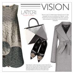 """""""LATTORI dress"""" by water-polo ❤ liked on Polyvore featuring Lattori, Fendi, Versace, STELLA McCARTNEY, polyvoreeditorial and lattori"""