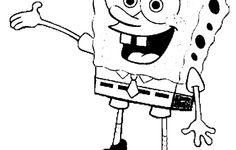 Spongebob Singing Coloring Pages