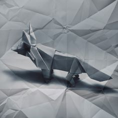 superimposing origami on its unfolded self (2)