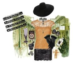 """VooDoo Juice"" by applecocaine ❤ liked on Polyvore featuring Plein Sud Jeanius, Emilio Pucci, Lanvin and The Wild Unknown"