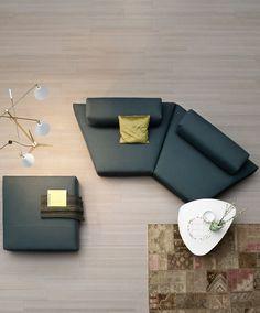 Modular fabric #sofa HOSPITIS by Novamobili