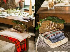 Marianne Lucille Photography |Winter Wedding Ideas | Mr. & Mrs. Chair Signs | Kate Aspen Blog | Roundhouse Railroad Museum | Savannah Georgia