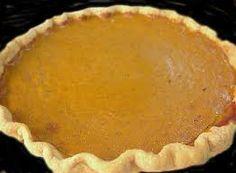 Pumpkin pie! I'm getting hungry!!