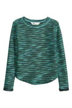 Pullover in maglia strutturata