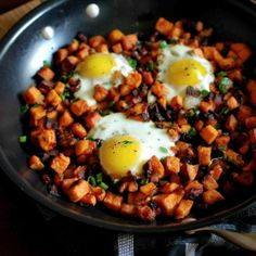 Sweet Potato Hash makes for an amazing brunch!