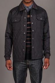 Ambiguous Clothing Mori Quilted Woven Shirt