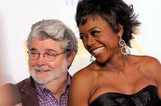 George Lucas announces his engagement. She is gorgeous, congrats to him!