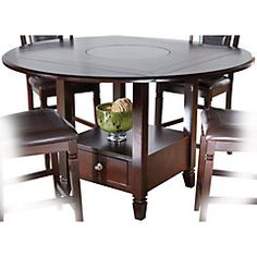 Coaster 5pc Cappuccino Finish Counter Height Dining Table...  Https://www.amazon.com/dp/B000RPVKPC/refu003dcm_sw_r_pi_dp_x_eLQgzbAFVY908 |  Pinterest | Dining ...
