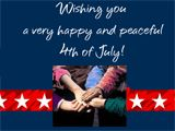 'America the Beautiful' 4th of July ecard