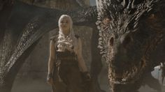 Daenerys in battle of the bastards.