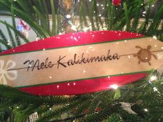 Mele Kalikimaka Merry Christmas in Hawaiian by SandySeaTreasures