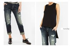 BSB Fashion #daily tuesday Find the Vanessa jeans here>> http://bit.ly/1WvylTP Find the ribbed top here >> http://bit.ly/1KOzOwk