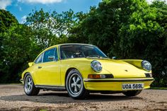 The 1972 Porsche 911 Carrera 2.7 RS is considered by many to not only be the purist 911, but also one of the purist road and race cars ever made. It's rarity and desirability is now pushing it far out of reach of all but the most wealthy of car collectors.