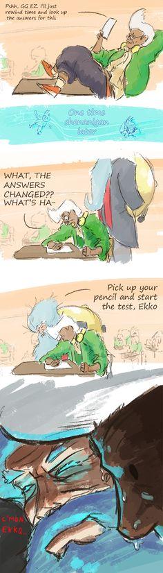 Ekko League of Legends