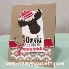 Moosely You by Robin Lee - Cards and Paper Crafts at Splitcoaststampers