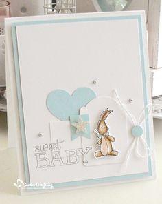 baby card handmade