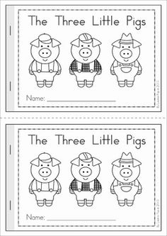 √ 22 the Three Little Pigs Worksheets Puppets . 29 the Three Little Pigs Worksheets Puppets. 3 Little Pigs Activities, Book Activities, Preschool Activities, Three Little Pigs Story, Fairy Tales Unit, Fairy Tale Theme, Pig Crafts, Traditional Tales, Emergent Readers