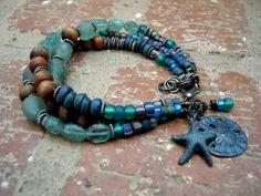 Element Water / Gypsy Bracelet / Yoga Bracelet / Yoga by Syrena56