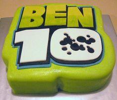 Ben 10 themed birthday cake