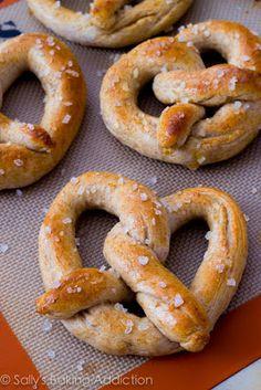 homemade pretzels #summersides