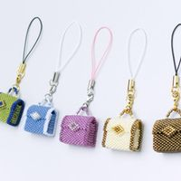 PDF Beading Tutorial of beaded tiny bags. This tutorial includes 12 pages with detailed illustrations and photographs. * Level: intermediate, odd-count flat peyote stitch and flat square stitch. Seed Bead Patterns, Jewelry Patterns, Beading Patterns, Seed Bead Tutorials, Beading Tutorials, Beaded Boxes, Beaded Purses, Seed Bead Jewelry, Beaded Jewelry