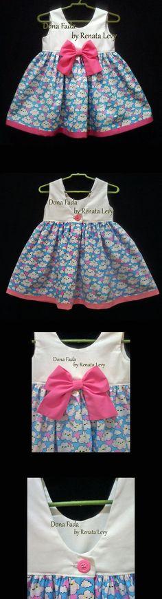 Vestido 12/18 meses _______________baby - infant - toddler - kids - clothes for girls - - - https://www.facebook.com/dona.fada.moda.para.fadinhas/