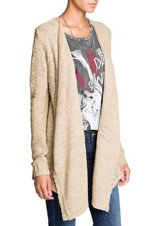 Boohoo Maria Fine Gauge Waterfall Cardigan | Gauges, Boohoo and ...