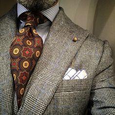Suit and tie fixation - passaggiocravatte: Bespoke vintage ancient Mens Fashion Suits, Mens Suits, Fashion Outfits, Fashion 2016, Style Fashion, Elegance Fashion, Men's Outfits, Fashion Styles, Der Gentleman