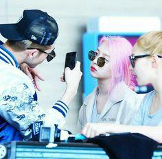 BM, Jiwoo & Somin