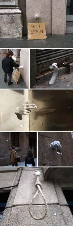 hands project, Manos, barcelona, octavi serra, mateu targa, daniel llugany, pau garcia, Street art in Spain, Graffiti