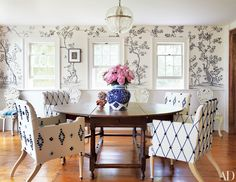 Floral Wallpaper Decorating Inspiration Photos | Architectural Digest