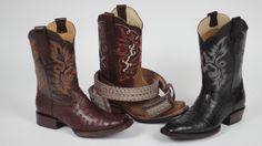 """En el Pabellón """"Marcas GTO"""" de la Feria Estatal de León encontraras botas y cinturones en el stand de El Norteño Family Store. Un producto de calidad hecho en Guanajuato que te va a encantar.  Visita nuestro stand del 14 de enero al 8 de febrero de 2015."""