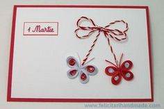 felicitari quilling 1martie Quilling Cards, Paper Quilling, Spring Activities, Activities For Kids, 8 Martie, Quilling Designs, Christmas Crafts For Kids, Origami, Birthday Cards