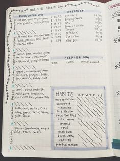 My Bullet Journal & Inspiration — studytildawn:   So I've been asked a few times to...