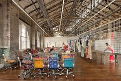Urban Outfitters Headquarters. Booyah.   Doesn't this look like a great palce to work???