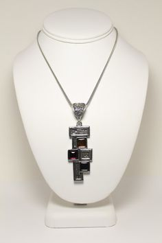 Christine Philippe Pewter Necklace - Northern Lights Gallery - Fine Art, Jewelry, Accents - Racine, WI