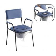 Silla de inodoro clásica azul Thuasne #baño #wc #adaptado #discapacitado #minusvalido #disabled #bath #bathroom #toilet #shower #higiene #inodoro