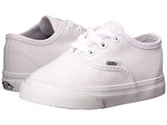 Vans Kids Authentic Core (Toddler) True White - Zappos.com Free Shipping BOTH Ways