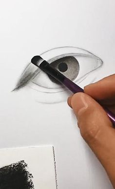 Eye Pencil Drawing, 3d Art Drawing, Girl Drawing Sketches, Drawing Eyes, Girly Drawings, Art Drawings Sketches Simple, Pencil Art Drawings, Realistic Drawings, How To Draw Realistic