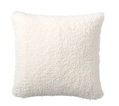 $39.50 Faux Sheepskin Pillow Covers | Pottery Barn