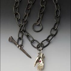 Peg Fetter Jewelry - interesting clasp