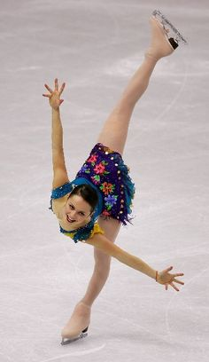 Sasha Cohen perfect spiral