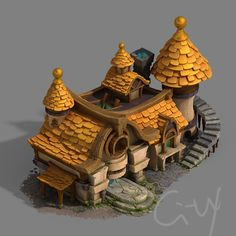 ArtStation - 3Ds max and substance painter., Chen Tian