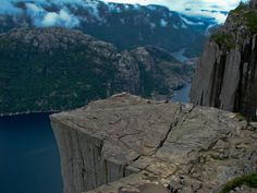 Rare sight to behold, an almost deserted Lysefjord – Preikestolen. It's located in Rogaland, Norway