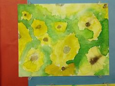 Second Grade Artist watercolor