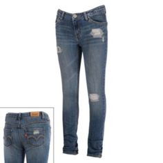 0200f1e7a Arizona Twill Skinny Pants - Girls 6-16 and Plus found at @JCPenney ...