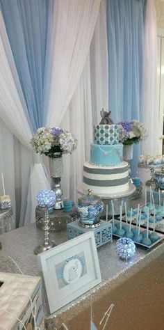 Elephant (Elegant) Baby Shower Party Ideas | Photo 6 of 12 | Catch My Party