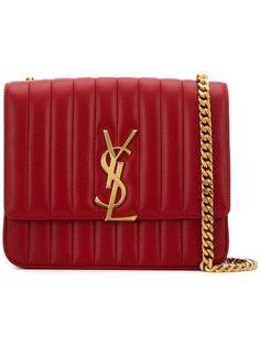 d5fb092a54e8 Saint Laurent Vicky large matelassé shoulder bag