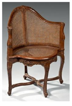 Desk Chair Stamped CRESSON (French)